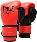 RĘKAWICE BOKSERSKI EVERLAST POWERLOCK PU RED